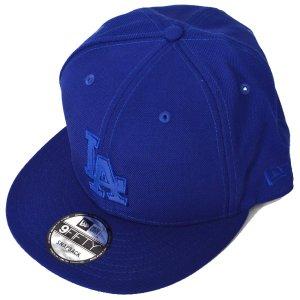 画像1: 【COACH】コーチ ロサンゼルス・ドジャース メジャーリーグ コラボ ジャガード キャップ 帽子 ブルー〔日本未発売〕