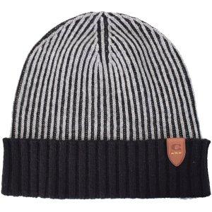 画像1: 【COACH】コーチ カシミア100% ビーニー ニット 帽子 ヘザーグレー(日本未発売)