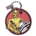 【COACH】コーチ スムースレザー スターウォーズ コラボ C-3PO アンド R2-D2 ハングタグ チャーム キーホルダー マルチカラー(日本未発売)