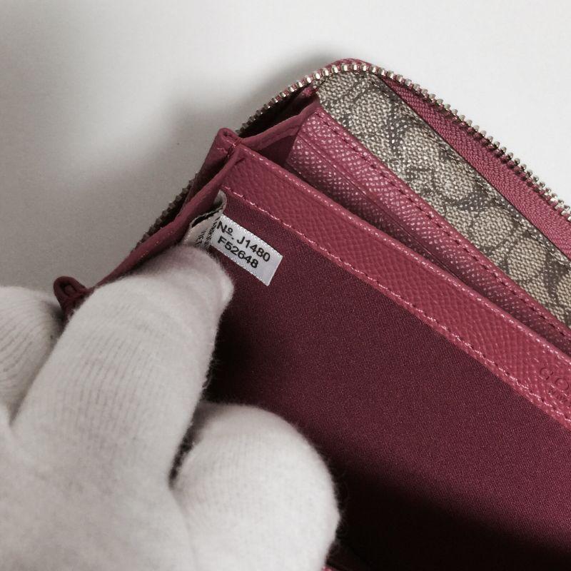 c2b78ee2efcf コーチの財布に関する最近の大ニュースをお知らせします! 札入れの内側にある小さな白いタグです! ただのタグではありません!  ここには商品番号が書かれています。