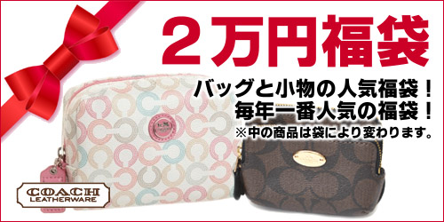 COACHの2万円レディース福袋