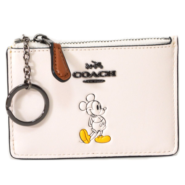online store e4c77 5583a COACH】コーチ ディズニー ミッキー コラボ スキニー IDコイン ...