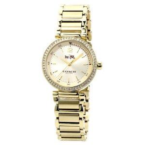 b155cb671f9b 画像: 【COACH】コーチ スポーツ クォーク ゴールド プレート レディース 腕時計〔日本未発売